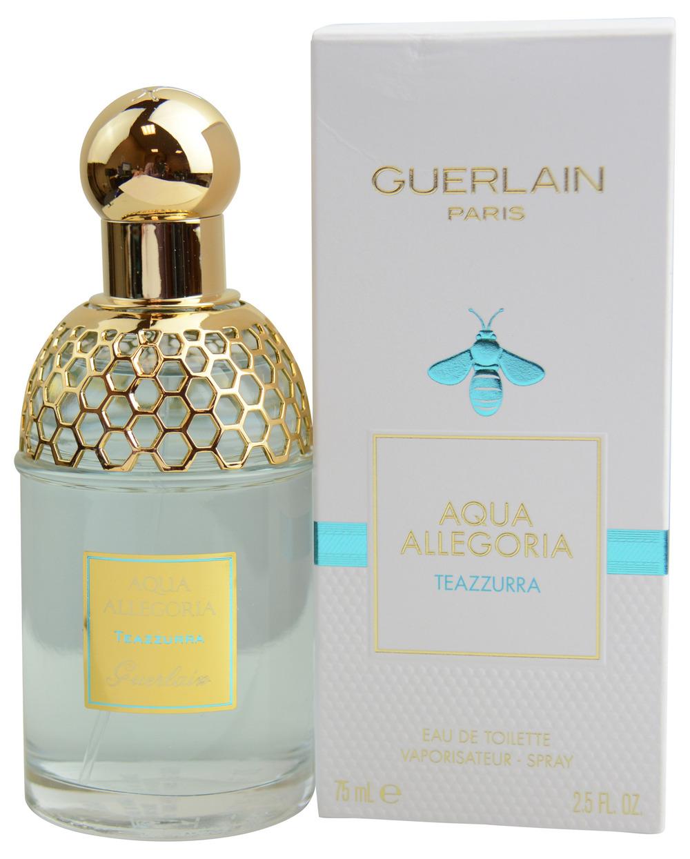guerlain aqua allegoria teazzurra eau de toilette fragrance review eau talk the official. Black Bedroom Furniture Sets. Home Design Ideas