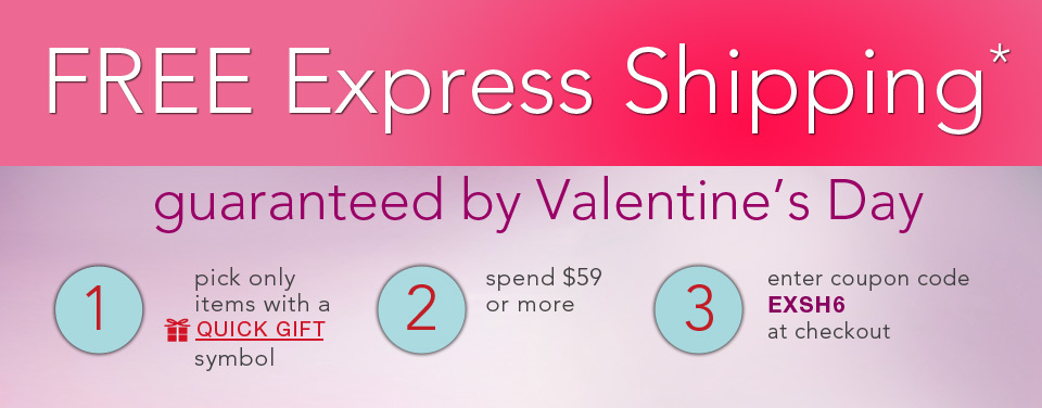 Free Express Shipping*