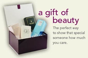 Our gift giving service. A gift of beauty is the perfect way to show that special someone how much you care.