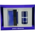 Ultraviolet Eau De Toilette Spray 3.4 oz & Deodorant Stick Alcohol Free 2.7 oz for men by Paco Rabanne