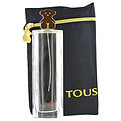 Tous Eau De Toilette Spray 3 oz & Designer Bag for women by Tous