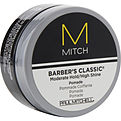 Paul Mitchell Men Mitch Barber's Classic Moderate Hold/High Shine Pomade for men by Paul Mitchell