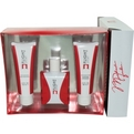 Flight Sport Cologne Spray 3.4 oz & Aftershave Balm 3.4 oz & Hair And Body Wash 3.4 oz for men by Michael Jordan