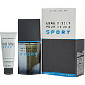 L'Eau d'Issey Pour Homme Sport Eau De Toilette Spray 3.3 oz & Free All Over Shampoo 2.5 oz (Travel Offer) for men by Issey Miyake
