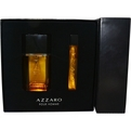 Azzaro Eau De Toilette Spray 3.4 oz & Eau De Toilette Spray .5 oz Mini for men by Azzaro