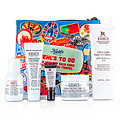 Kiehl's Ultra Facial Hydration Set: Daily Defense Spf 50 + Cream 50ml + Toner 40ml + Cleanser 30ml + Concentrate 5ml + Bag --5pcs+Bag for women by Kiehl's