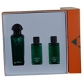 Hermes d'Orange Vert Eau De Cologne Spray 3.3 oz & Body Lotion 1.4 oz & Shower Gel 1.4 oz for men by Hermes