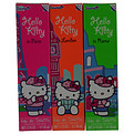 Hello Kitty The City Collection-3 Piece Set With In Rome & In Paris & In London And All Are Eau De Toilette Spray 1.7 oz for women by Sanrio Co.