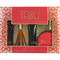 Tabu Eau De Cologne Spray 2.5 oz & Body Lotion 2.5 oz & Body Wash 2.5 oz & Dusting Powder 1.75 oz & Free Eau De Cologne Refillable Purse Spray (Empty) for women by Dana