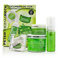 Peter Thomas Roth Cucumber Detox Kit: Gel Mask 150ml/5oz + Foaming Cleanser 30ml/1oz + Hydrating Gel 15ml/1oz + Eye-Cu for women by Peter Thomas Roth