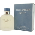 D & G Light Blue Cologne