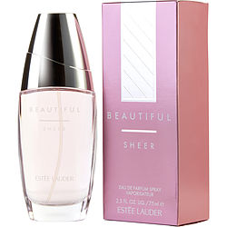 BEAUTIFUL SHEER by Estee Lauder EAU DE PARFUM SPRAY 2.5 OZ for WOMEN