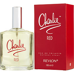 CHARLIE RED by Revlon - EDT SPRAY 3.4 OZ