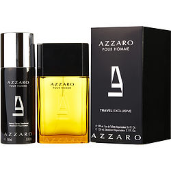 AZZARO by Azzaro SET-EDT SPRAY 3.4 OZ & DEODORANT SPRAY 5.1 OZ for MEN