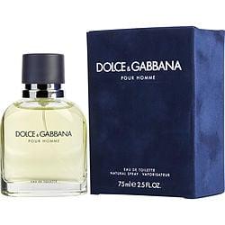 DOLCE & GABBANA by Dolce & Gabbana EDT SPRAY 2.5 OZ for MEN