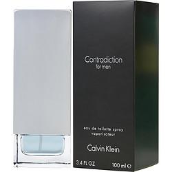 CONTRADICTION by Calvin Klein EDT SPRAY 3.4 OZ for MEN