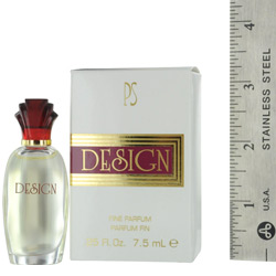 DESIGN by Paul Sebastian EAU DE PARFUM .25 OZ MINI for WOMEN $ 7.19