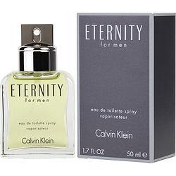 ETERNITY by Calvin Klein EDT SPRAY 1.7 OZ for MEN