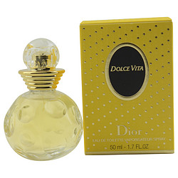 DOLCE VITA by Christian Dior EDT SPRAY 1.7 OZ for WOMEN