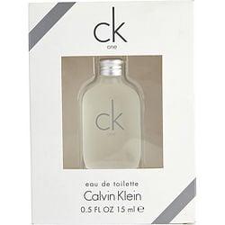 CK ONE by Calvin Klein EDT .5 OZ MINI for UNISEX