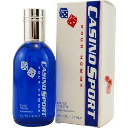 CASINO SPORT by Casino Parfums EDT SPRAY 4 OZ for MEN