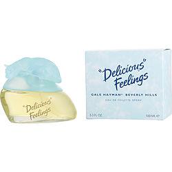 Delicious Feelings By Gale Hayman Edt Spray 3.3 Oz For Women