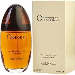 OBSESSION by Calvin Klein EDP SPRAY 3.4 OZ for WOMEN
