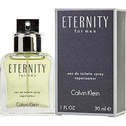 ETERNITY by Calvin Klein EDT SPRAY 1 OZ for MEN