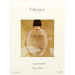 OBSESSION by Calvin Klein EDT .5 OZ MINI for MEN