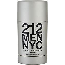 212 by Carolina Herrera DEODORANT STICK 2.1 OZ for MEN