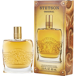 STETSON by Coty Cologne 2 OZ (EDITION COLLECTOR'S BOTTLE) for MEN