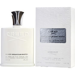 CREED SILVER MOUNTAIN WATER by Creed EDP SPRAY 4 OZ for MEN