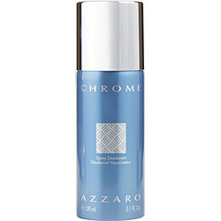 CHROME by Azzaro DEODORANT SPRAY 5 OZ for MEN