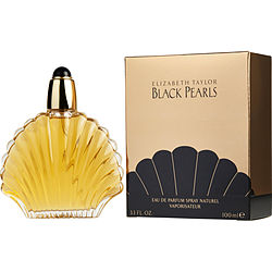 BLACK PEARLS by Elizabeth Taylor EAU DE PARFUM SPRAY 3.3 OZ for WOMEN