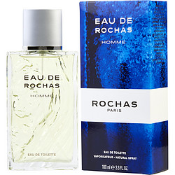 EAU DE ROCHAS by Rochas EDT SPRAY 3.4 OZ for MEN