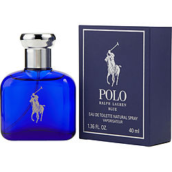 POLO BLUE by Ralph Lauren EDT SPRAY 1.3 OZ for MEN