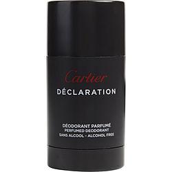 DECLARATION by Cartier DEODORANT STICK ALCOHOL FREE 2.5 OZ for MEN