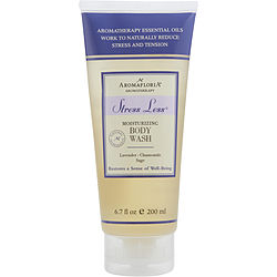 STRESS LESS by Aromafloria BODY WASH 6.7 OZ BLEND OF LAVENDER, CHAMOMILE, AND SAGE for UNISEX