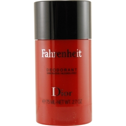 FAHRENHEIT by Christian Dior DEODORANT STICK ALCOHOL FREE 2.6 OZ for MEN