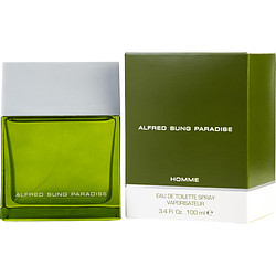 PARADISE by Alfred Sung EDT SPRAY 3.4 OZ for MEN