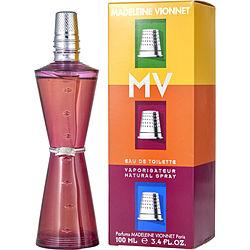 Madeleine Vionnet Mv By Madeleine Vionnet Edt Spray 3.4 Oz For Women
