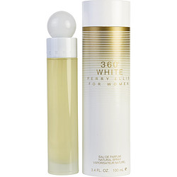 PERRY ELLIS 360 WHITE by Perry Ellis EAU DE PARFUM SPRAY 3.4 OZ for WOMEN