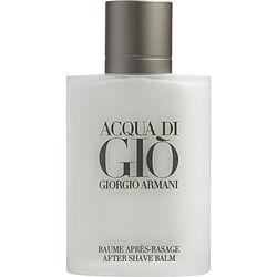ACQUA DI GIO by Giorgio Armani AFTERSHAVE BALM 3.4 OZ for MEN