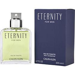 ETERNITY by Calvin Klein EDT SPRAY 6.7 OZ for MEN