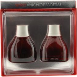 SPIRIT by Antonio Banderas - EDT SPRAY 3.4 OZ & AFTERSHAVE 3.4 OZ