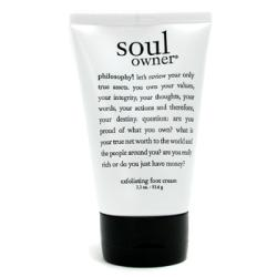 Philosophy by Philosophy Soul Owner Overnight Exfoliating Foot Cream--3.3OZ for WOMEN $ 15.50