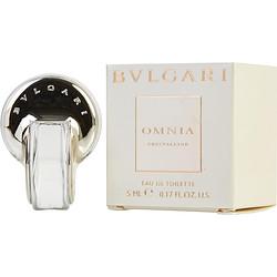 BVLGARI OMNIA CRYSTALLINE by Bvlgari EDT .17 OZ MINI for WOMEN