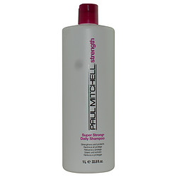 PAUL MITCHELL by Paul Mitchell SUPER STRONG DAILY SHAMPOO 33.8 OZ for UNISEX