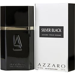 AZZARO SILVER BLACK by Azzaro EDT SPRAY 3.4 OZ for MEN $ 38.19