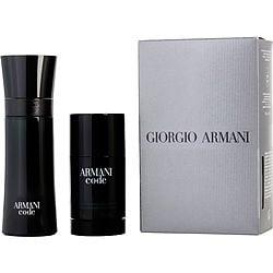 ARMANI CODE by Giorgio Armani SET-EDT SPRAY 2.5 OZ & ALCOHOL FREE DEODORANT STICK 2.6 OZ for MEN